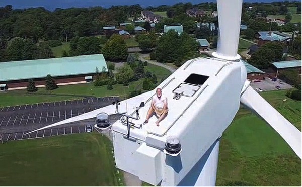 Onshore Wind Generator and Sun Bed